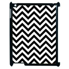 Wave Background Fashion Apple Ipad 2 Case (black)