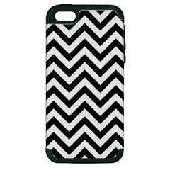 Wave Background Fashion Apple Iphone 5 Hardshell Case (pc+silicone) by Nexatart
