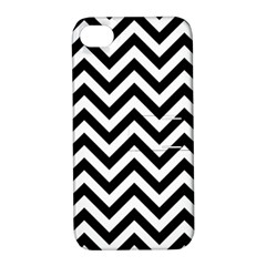 Wave Background Fashion Apple Iphone 4/4s Hardshell Case With Stand