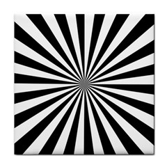 Rays Stripes Ray Laser Background Tile Coasters by Nexatart
