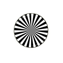 Rays Stripes Ray Laser Background Hat Clip Ball Marker (10 Pack)