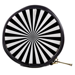 Rays Stripes Ray Laser Background Mini Makeup Bags