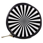 Rays Stripes Ray Laser Background Mini Makeup Bags Back