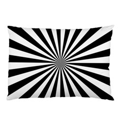 Rays Stripes Ray Laser Background Pillow Case (two Sides)