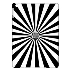Rays Stripes Ray Laser Background Ipad Air Hardshell Cases by Nexatart