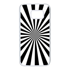 Rays Stripes Ray Laser Background Samsung Galaxy S7 White Seamless Case