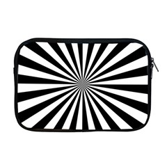Rays Stripes Ray Laser Background Apple Macbook Pro 17  Zipper Case