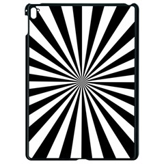 Rays Stripes Ray Laser Background Apple Ipad Pro 9 7   Black Seamless Case by Nexatart