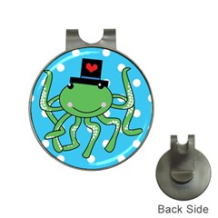 Octopus Sea Animal Ocean Marine Hat Clips With Golf Markers