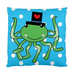 Octopus Sea Animal Ocean Marine Standard Cushion Case (two Sides) by Nexatart