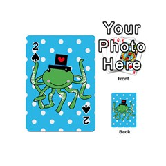Octopus Sea Animal Ocean Marine Playing Cards 54 (mini)  by Nexatart