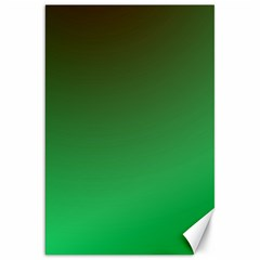 Course Colorful Pattern Abstract Green Canvas 20  X 30   by Nexatart
