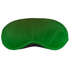Course Colorful Pattern Abstract Green Sleeping Masks