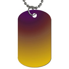 Course Colorful Pattern Abstract Dog Tag (one Side)
