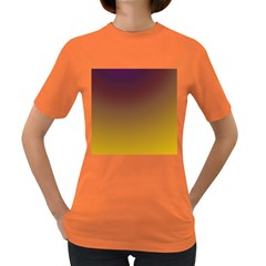 Course Colorful Pattern Abstract Women s Dark T Shirt