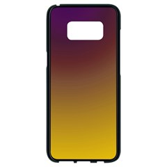 Course Colorful Pattern Abstract Samsung Galaxy S8 Black Seamless Case by Nexatart