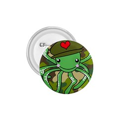 Octopus Army Ocean Marine Sea 1 75  Buttons by Nexatart