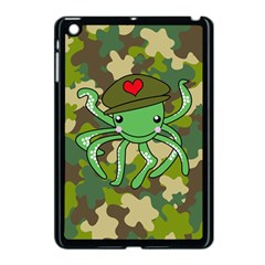 Octopus Army Ocean Marine Sea Apple Ipad Mini Case (black) by Nexatart