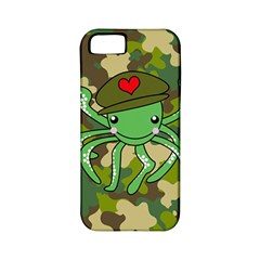 Octopus Army Ocean Marine Sea Apple Iphone 5 Classic Hardshell Case (pc+silicone) by Nexatart
