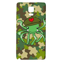 Octopus Army Ocean Marine Sea Galaxy Note 4 Back Case