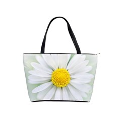 Art Daisy Flower Art Flower Deco Shoulder Handbags by Nexatart