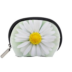 Art Daisy Flower Art Flower Deco Accessory Pouches (small)  by Nexatart