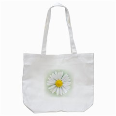 Art Daisy Flower Art Flower Deco Tote Bag (white) by Nexatart