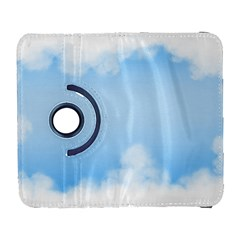 Sky Cloud Blue Texture Galaxy S3 (flip/folio) by Nexatart