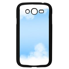 Sky Cloud Blue Texture Samsung Galaxy Grand Duos I9082 Case (black) by Nexatart