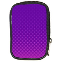 Halftone Background Pattern Purple Compact Camera Cases by Nexatart