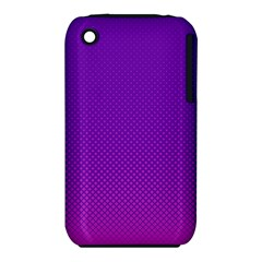 Halftone Background Pattern Purple Iphone 3s/3gs