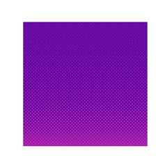 Halftone Background Pattern Purple Small Satin Scarf (square) by Nexatart