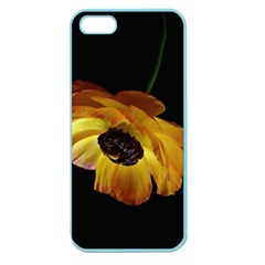 Ranunculus Yellow Orange Blossom Apple Seamless Iphone 5 Case (color)