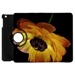 Ranunculus Yellow Orange Blossom Apple Ipad Mini Flip 360 Case
