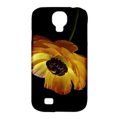 Ranunculus Yellow Orange Blossom Samsung Galaxy S4 Classic Hardshell Case (pc+silicone)