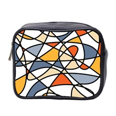Abstract Background Abstract Mini Toiletries Bag 2 Side by Nexatart