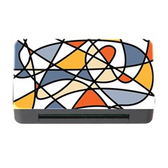 Abstract Background Abstract Memory Card Reader With Cf by Nexatart