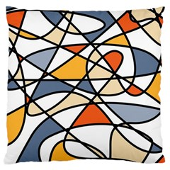 Abstract Background Abstract Large Cushion Case (two Sides) by Nexatart