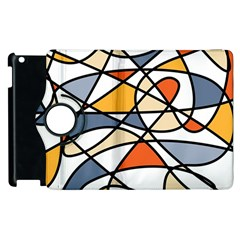 Abstract Background Abstract Apple Ipad 2 Flip 360 Case by Nexatart