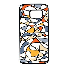 Abstract Background Abstract Samsung Galaxy S7 Black Seamless Case by Nexatart