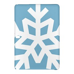 Snowflake Snow Flake White Winter Samsung Galaxy Tab Pro 12 2 Hardshell Case by Nexatart
