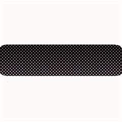 Halftone Background Pattern Black Large Bar Mats