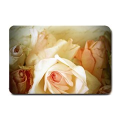 Roses Vintage Playful Romantic Small Doormat