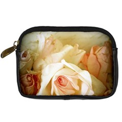 Roses Vintage Playful Romantic Digital Camera Cases by Nexatart