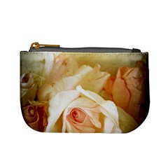Roses Vintage Playful Romantic Mini Coin Purses by Nexatart
