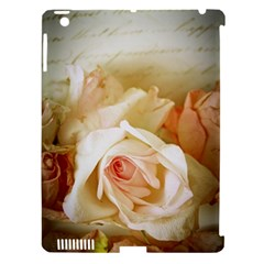 Roses Vintage Playful Romantic Apple Ipad 3/4 Hardshell Case (compatible With Smart Cover) by Nexatart
