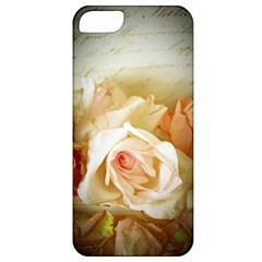 Roses Vintage Playful Romantic Apple Iphone 5 Classic Hardshell Case