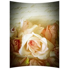 Roses Vintage Playful Romantic Back Support Cushion by Nexatart