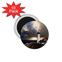 Lighthouse Beacon Light House 1 75  Magnets (10 Pack)  by Nexatart
