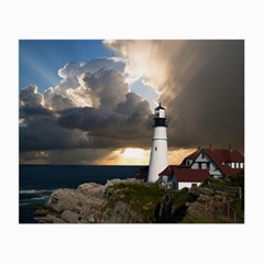 Lighthouse Beacon Light House Small Glasses Cloth